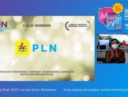 PLN Sabet Tiga Penghargaan Sekaligus di Ajang BUMN Marketeers Award 2020