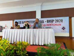 PHRI Sumedang Bersama LSP BNSP Lakukan Uji Kompetensi Bidang Hotel dan Restoran