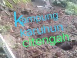 Viral Video Longsor di Kampung Karuhun, Masyarakat Diminta Bijak Membuat Postingan di Medsos