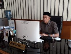 Melalui Zoom Meeting, Jajang Sampaikan Sejumlah Catatan Hasil Musrenbang Kecamatan