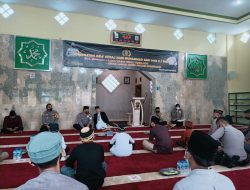 Peringati Isra Mi'raj, Polres Sumedang Gelar Pengajian Sekaligus Doa Bersama Agar Laka di Wado Tak Terulang