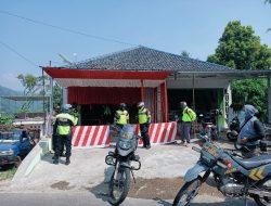 Kapolres  Sumedang Cek Langsung Lokasi Penyekatan Persiapan Ops Ketupat Lodaya 2021