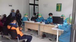 Gebyar Vaksinasi Masal di Kecamatan Buahdua