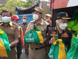 Pemkab Sumedang Sebarkan 5000 Paket Sembako di PPKM Darurat