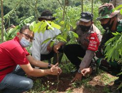 Coca-Cola EPI Sumedang Bersama Desa Sukadana Lakukan Penanaman 1.500  Pohon