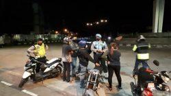 Antisipasi C3 dan Balap Liar, Tim Gabungan Polres Sumedang Lakukan Patroli KRYD