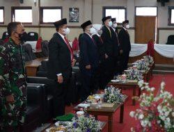 DPRD Sumedang Dengarkan Pidato Kenegaraan Presiden HUT ke-76 RI