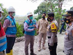 Jalan Ambles, Akses Penghubung Dua Desa di Jatigede Sumedang Ditutup Sementara