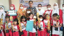 Ini Para Pemenang Lomba Mendongeng dan Lomba Puisi Jenjang TK KOBER