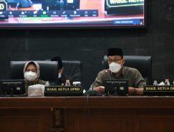 Seluruh Fraksi DPRD Sumedang Setujui Usulan Dua Raperda Inisiatif