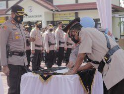 Dua Kapolsek dan Sejumlah Pejabat Utama di Polres Sumedang Dimutasi